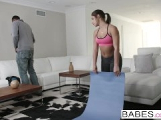 Black is Better - Hot yoga teen Abella Danger loves BBC